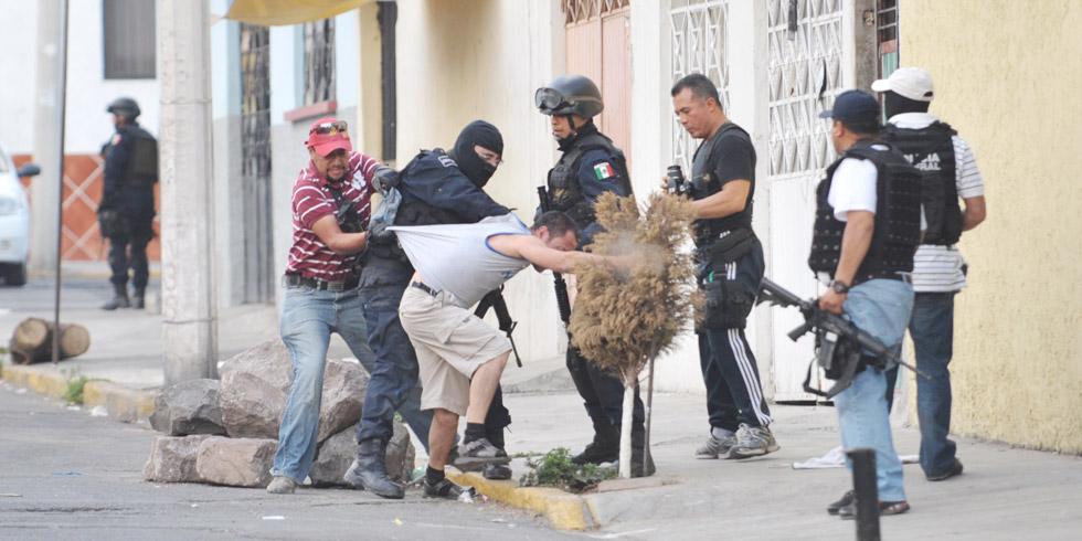 Con Felipe Calderón, la violencia se disparó y fue más notorio que las bandas de las grandes organizaciones se dividieron. Foto: Cuartoscuro