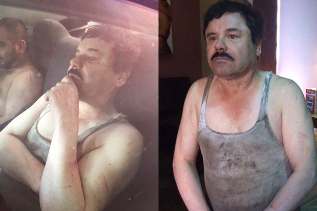 Recapturado Joaquín 'El Chapo' Guzmán
